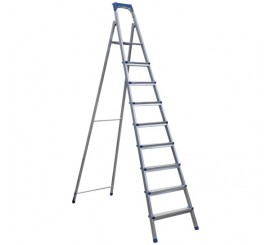 ERT-SN 309 8+1 METAL LADDER